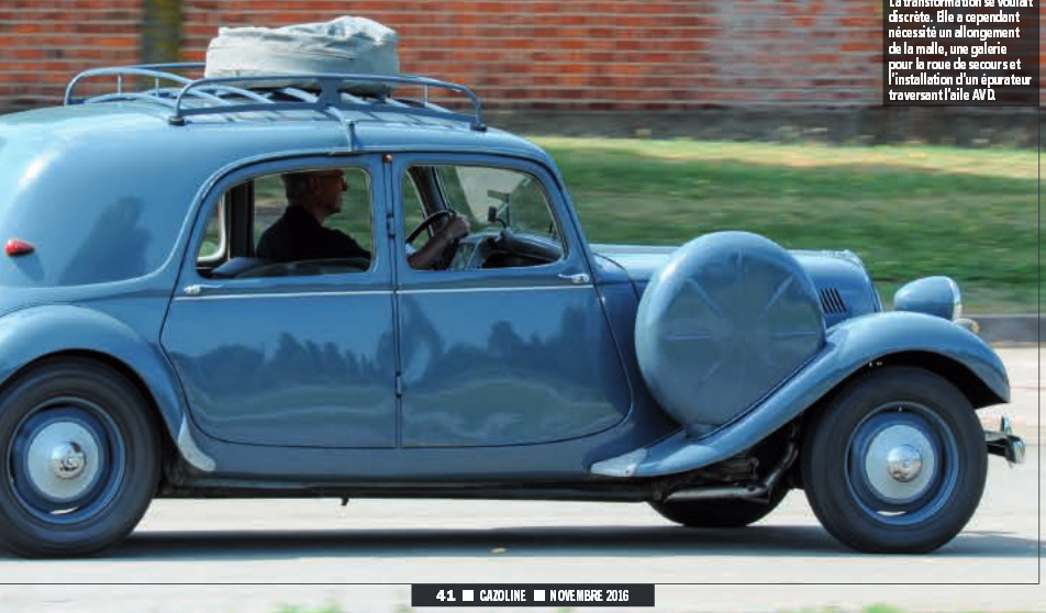 Citroen Traction 11 Normale Gazauto